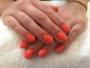 Acryl nagels met Shellac bij Care 4 Your Nails