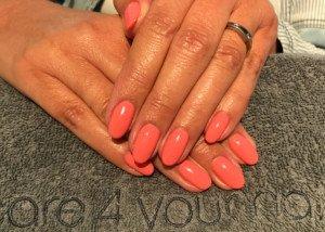Acryl nagels met OPI GelColor