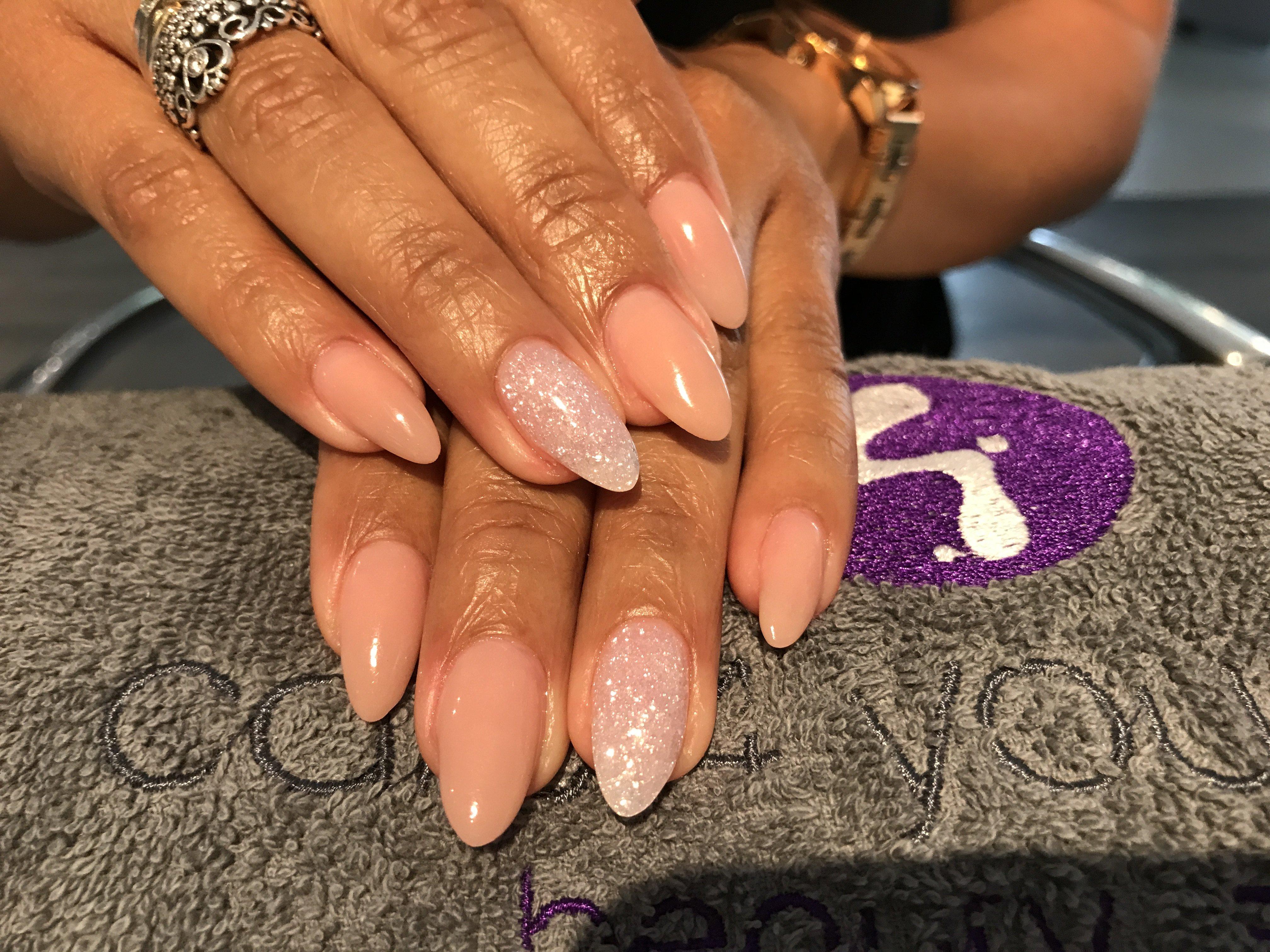 Acryl nagels Nude
