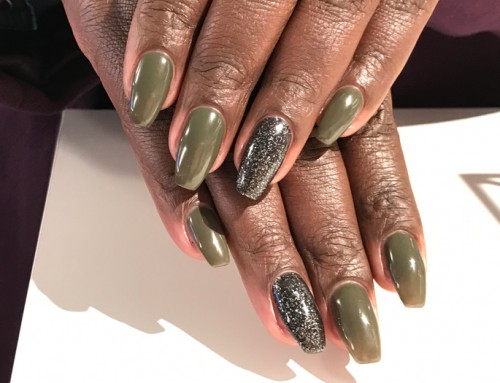 Acryl nagels met OPI GelColor 2