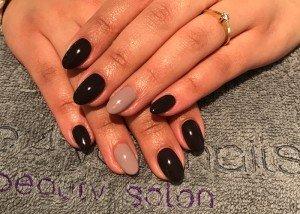Acryl nagels met Shellac